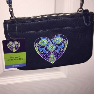 Summer heart mini bag Brighton